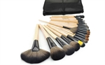 Picture of Professional 24 Piece Makeup Brush Set With Case